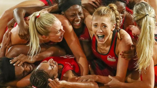 Roses Win GOLD at Commonwealth Games